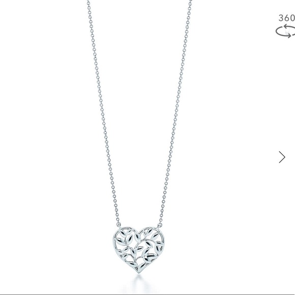 c7c328a1f Tiffany & Co. Jewelry | Tiffany Co Olive Leaf Heart Pendant | Poshmark